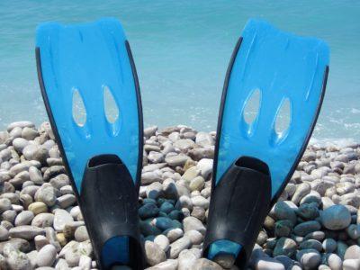 Fins for snorkelling, Extras - AQUA SUPS