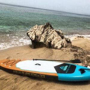 "AQUA SUPS 10'6 x 33"" Paddle board"