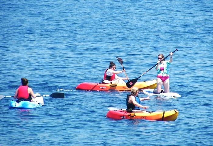 Kayaking Lefkada